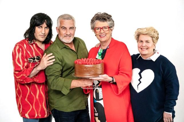 Great British Bake Off judges 2019