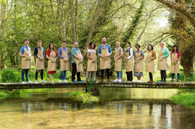 The cast of Great british Bake Off 2019
