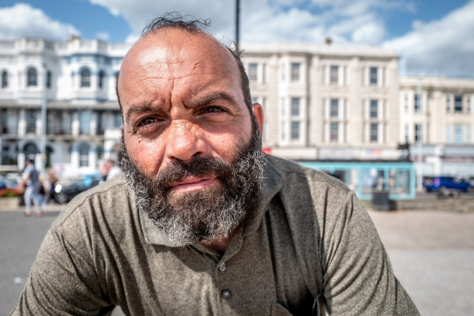 Deaf man David Russell says he's saved seven people from killing themselves at Worthing beach
