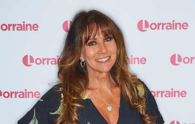 Editorial use only Mandatory Credit: Photo by Ken McKay/ITV/REX (10367642f) Linda Lusardi 'Lorraine' TV show, London, UK - 21 Aug 2019