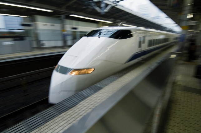 Someone forgot to close Japan bullet train door before it reached 175mph