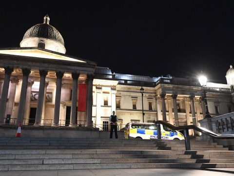 Man stabbed in Trafalgar Square as police tape off roads