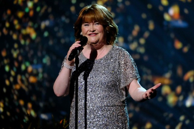 """AMERICA'S GOT TALENT -- """"Live Results 2"""" Episode 1415 -- Pictured: Susan Boyle -- (Photo by: Trae Patton/NBC)"""