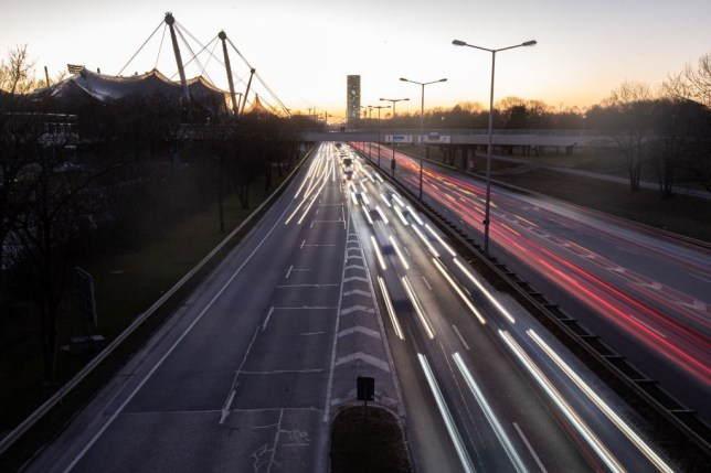 Boy, 8, takes parents' VW Golf on 87mph joyride on German motorway