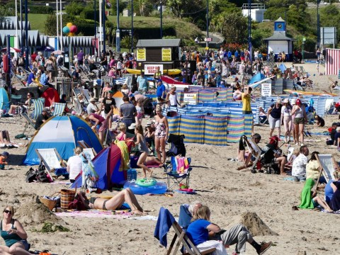 Met Office bank holiday weekend UK weather forecast for heatwave