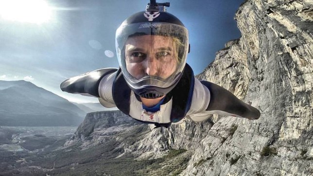 Dr Angelo Grubisic, 38, was a British Nasa scientist and wingsuit champion (Picture: Facebook)