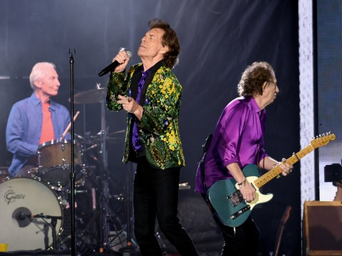 The Rolling Stones look sleep deprived as they relax before rescheduled Miami show