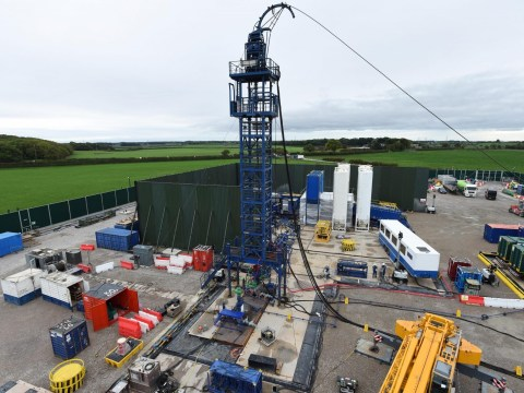 Largest ever earthquake rocks UK fracking site