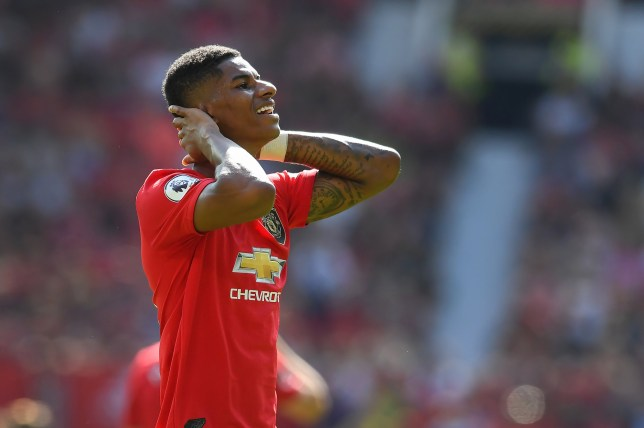 Marcus Rashford missed a penalty as Manchester United were beaten by Crystal Palace