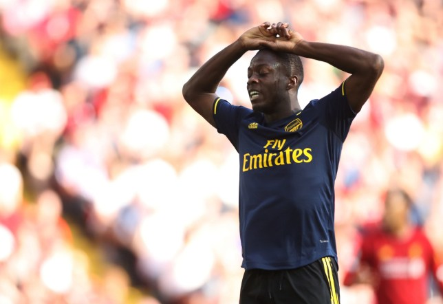 competitive price 21a45 07dfb Nicolas Pepe finally ends Virgil van Dijk's long-running ...