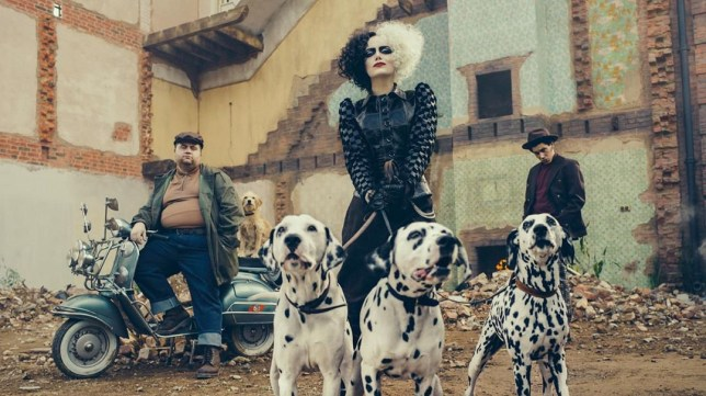 When is Cruella released and who's in the cast with Emma Stone?