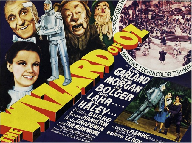 The Wizard of Oz 1939 movie poster