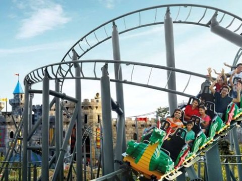 Legoland ride breaks down in 32C heat leaving family trapped 30ft in the air