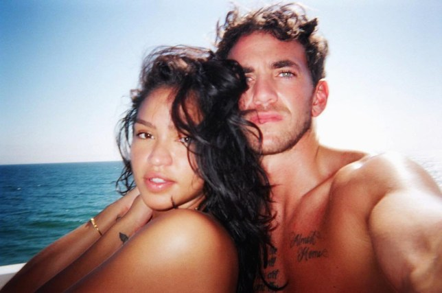 Cassie and her partner Alex Fine are engaged