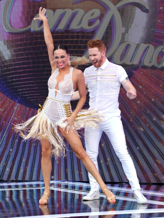 Strictly Come Dancing's Neil and Katya Jones
