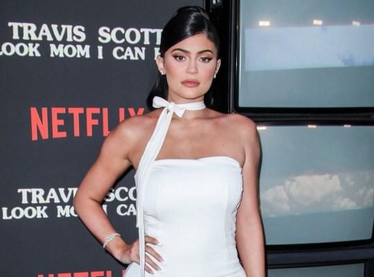 Mandatory Credit: Photo by Matt Baron/REX (10373277v) Kylie Jenner 'Travis Scott: Look Mom I Can Fly' film premiere, Arrivals, Barker Hangar, Los Angeles, USA - 27 Aug 2019