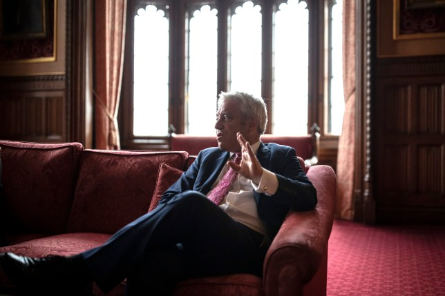 LONDON, ENGLAND - MAY 24: British politician, John Bercow MP, Speaker of the House of Commons conducts an interview inside the House of Commons on May 24, 2019 in London, England. (Photo by Dan Kitwood/Getty Images)