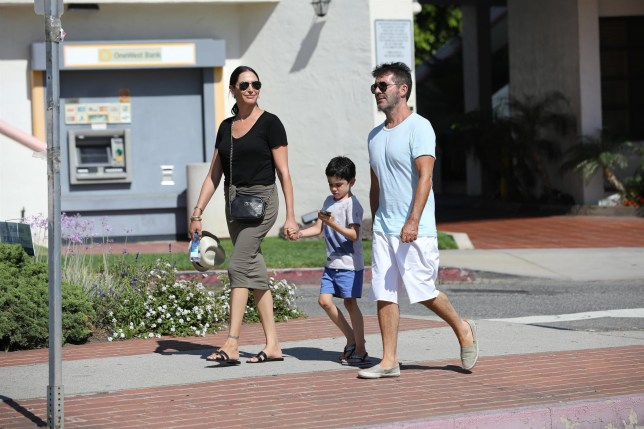 Simon Cowell Lauren Silverman and Eric