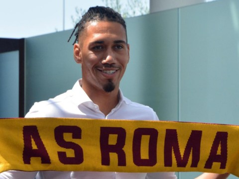 Chris Smalling completes his move from Manchester United to Roma on a season-long loan deal