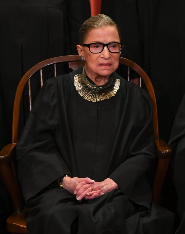 Supreme Court Justice Ruth Bader-Ginsburg, 86, treated for malignant pancreatic tumor