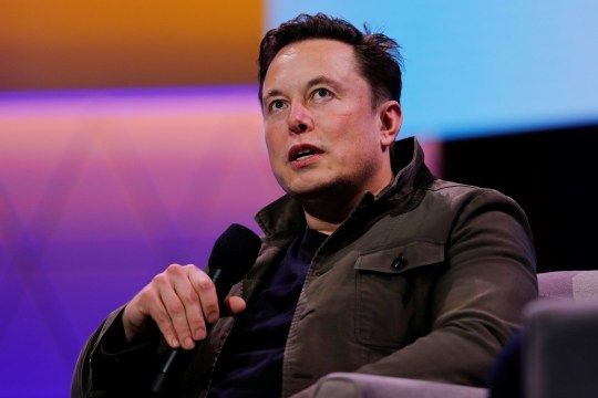 SpaceX owner and Tesla CEO Elon Musk speaks during a conversation with legendary game designer Todd Howard (not pictured) at the E3 gaming convention in Los Angeles, California, U.S., June 13, 2019. REUTERS/Mike Blake