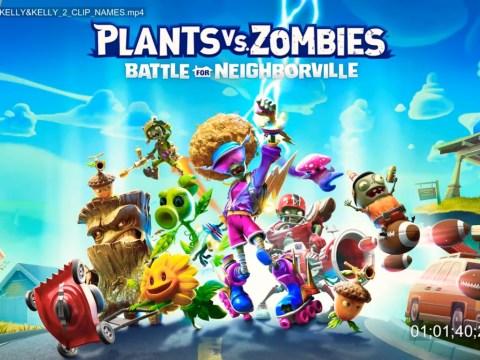 Plants Vs. Zombies: Battle For Neigborville reveal trailer leaks early