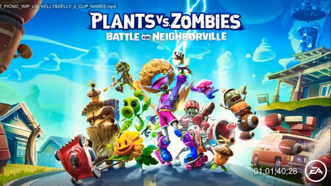 Plants Vs. Zombies: Battle For Neigborville key art - that such a downgrade for the name