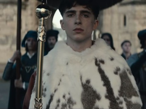 Fans go wild for Timothee Chalamet's English accent as Netflix drops trailer for The King