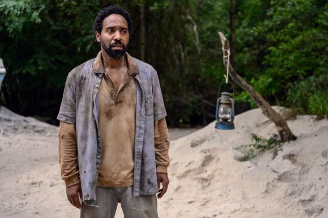 Kevin Carroll as Virgil in The Walking Dead