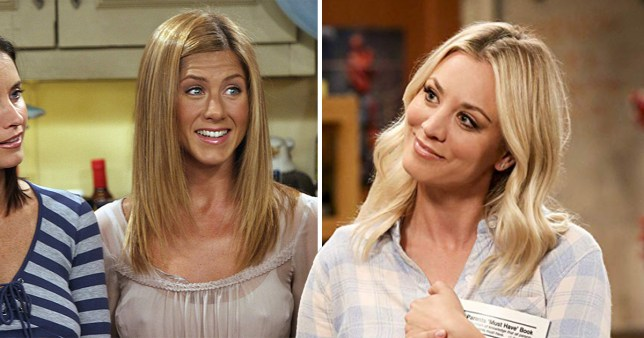 Kaley Cuoco really wanted Jennifer Aniston for The Big Bang Theory and Friends crossover we all deserved and just imagine
