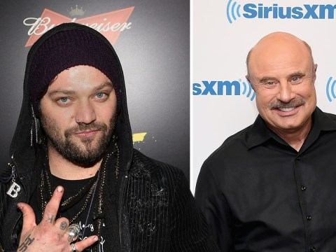 Jackass' Bam Margera begs Dr Phil for help as he disowns his own mother and prepares for baby battle