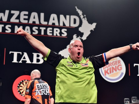 Michael van Gerwen compares himself to Lionel Messi and Raymond van Barneveld to Diego Maradona