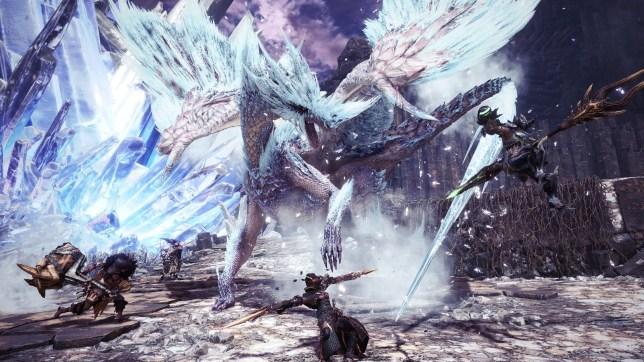 Monster Hunter: World Iceborne - Velkhana is not an easy mark