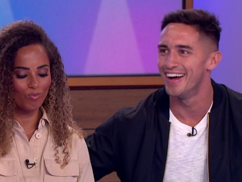 Love Island winners Amber Gill and Greg O'Shea desperately dodge awkward sex questions from Coleen Nolan