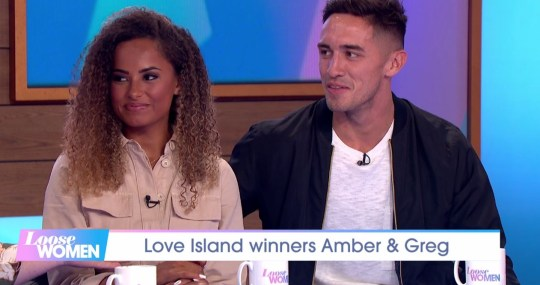 Amber and Greg Loose Women