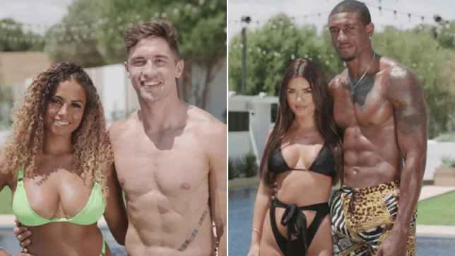 amber, greg, ovie and india from love island