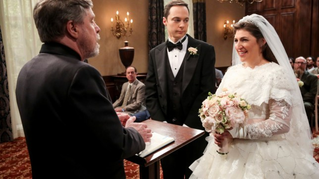 The Big Bang Theory wedding episode