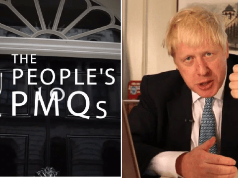 Boris says voters want Brexit and not an election during first People's PMQs