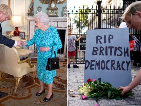 What will happen next after Queen agrees to suspension of Parliament?