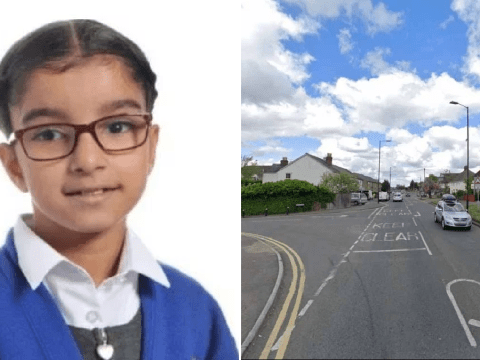 Girl, six, killed by speeding driver after moving to UK for better life