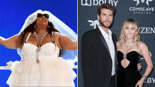 Lizzo and Liam Hemsworth and Miley Cyrus