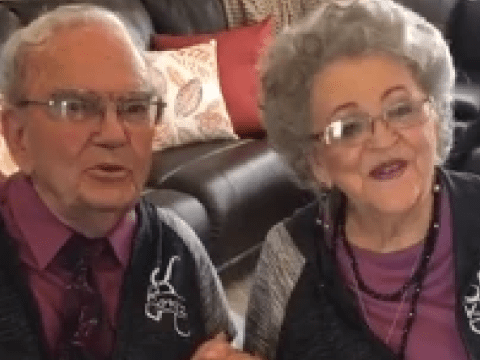 Couple say they've stayed happily married for 70 years by wearing matching outfits