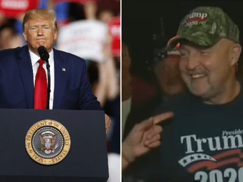 Donald Trump blasts one of his own supporters for having a 'serious weight problem'