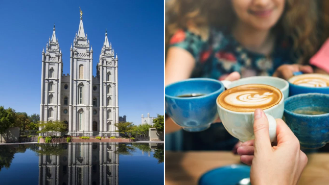Mormon and coffee