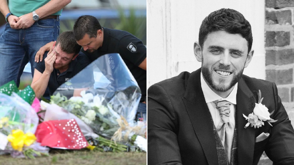 PC Andrew Harper and his loved ones mourning his death