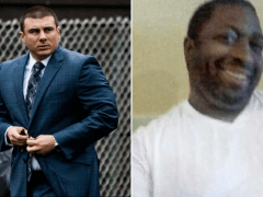 Cop Daniel Pantaleo fired five years after choking black suspect Eric Garner to death