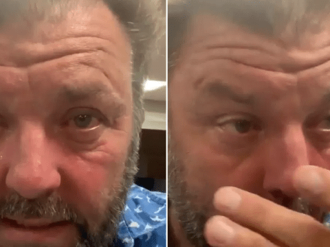 Homes Under The Hammer star Martin Roberts in hospital dash after rubbing poisonous plant in his eyes