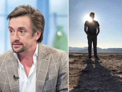 The Grand Tour's Richard Hammond gets to work on new adventure series as Tory Belleci shares breathtaking picture from the desert