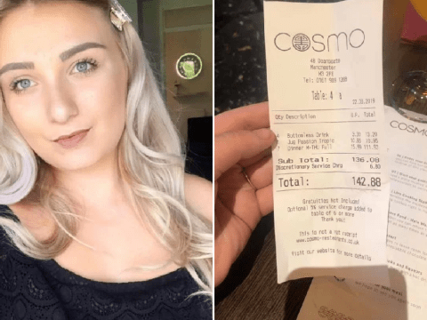 Birthday woman stunned as mystery 'footballer' pays £142 restaurant bill