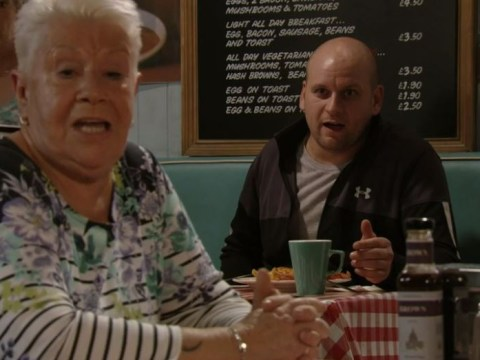 EastEnders spoilers: Mo Harris drops cheeky 'bl*wjob' joke about Fat Elvis